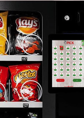 Vending Machine Touch Interface